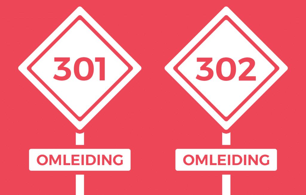 In dit artikel leggen we het verschil uit tussen een 301 redirect en een 302 redirect en hoe je ze met succes kunt instellen op je website.