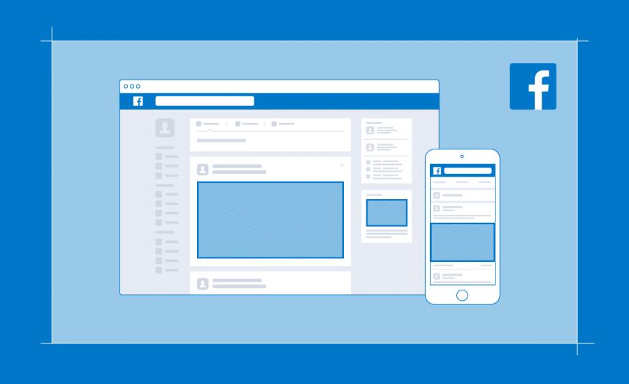 Overzicht afmetingen voor Facebook