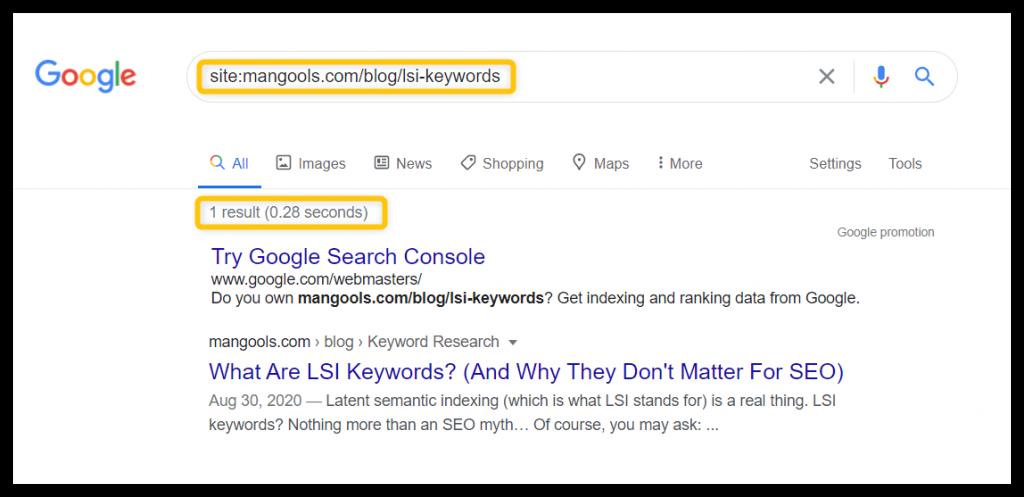 indexatie google