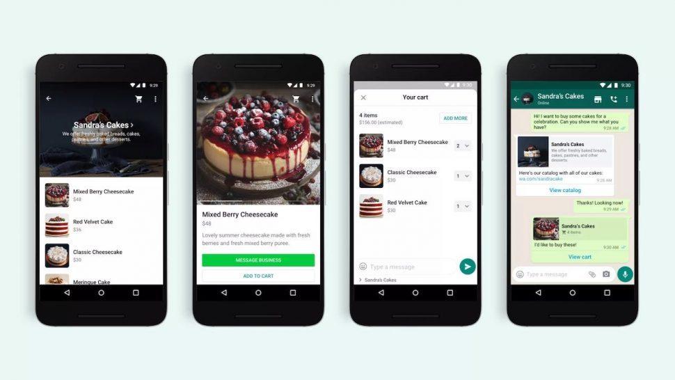 Anno 2021 is het ook mogelijk om te winkelen op Whatsapp. Dit is één van de social media trends voor 2021.